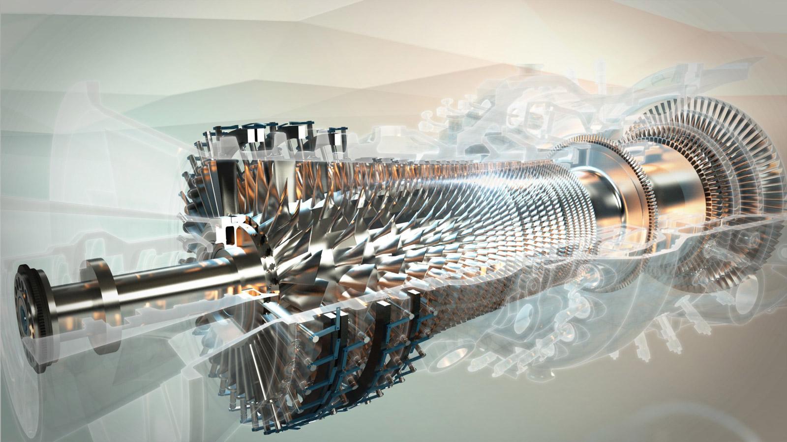 Турбины, индустриальные двигатели и газовые компрессоры
